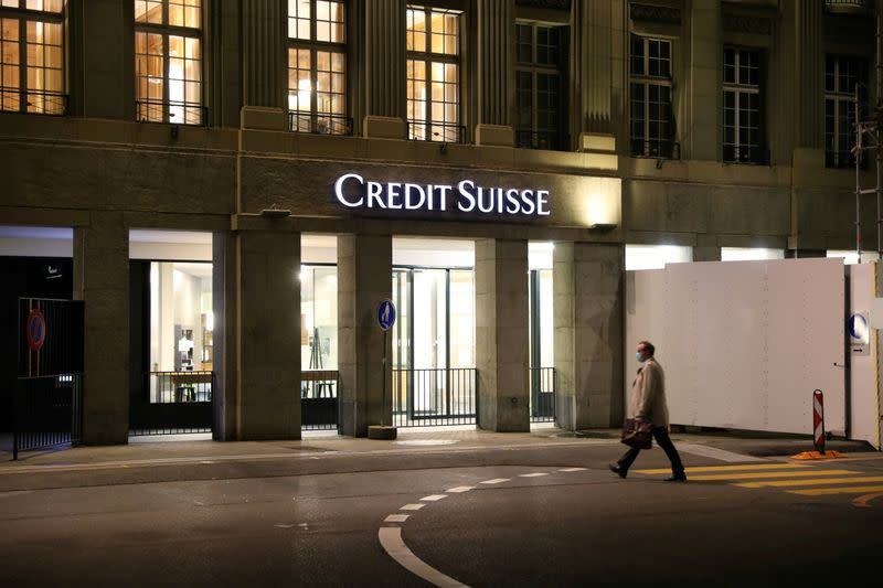 Switzerland charges Credit Suisse in Bulgarian money laundering probe