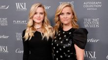 Reese Witherspoon and daughter Ava Phillippe could pass as twins in ski selfie