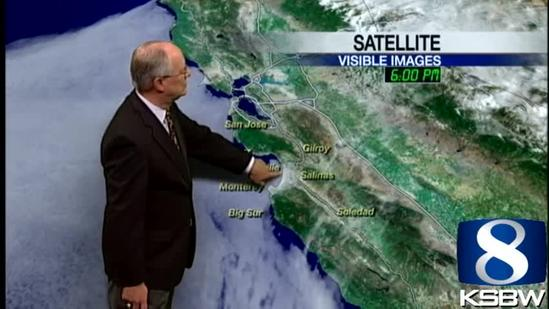 Watch Your KSBW Weather Forecast 07.25.13