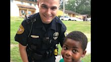 A 6-year-old boy called 911 because he was 'lonely and wanted a friend' — and this officer stepped up