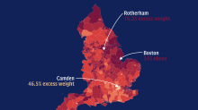 England's obesity hotspots: how does your area compare?