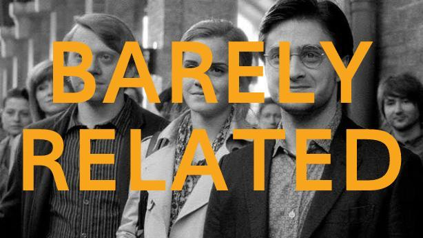 Barely Related: Harry Potter in his 30s, Seth Rogen's war