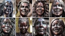 """PHOTOS: 10 bronze statues of inspirational women in NYC by Statues for Equality"""""""