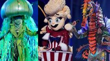 'The Masked Singer' triple-elimination includes Grammy nominees, Olympic medalist