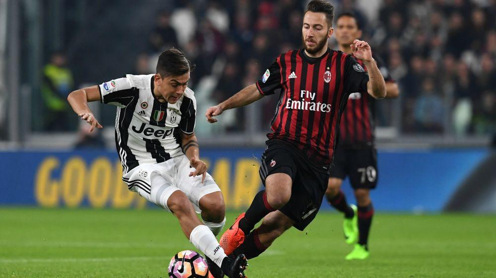 Paulo Dybala Andrea Bertolacci Juventus Milan Serie A