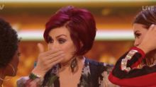 Sharon Osbourne drops the F-bomb live on The X Factor