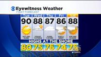 Katie Fehlinger's 6 AM Forecast: Tuesday, May 26, 2015