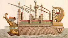 Stolen mosaic that once adorned Emperor Caligula's lavish pleasure barge returned to Italy after being used as a coffee table