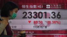 Asia shares fall as US-China tensions douse rally on Wall St