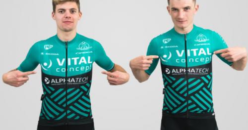 Cyclisme - Saison 2018 - Saison 2018 : Vital Concept dévoile son maillot