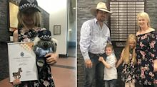 The brave Triple-0 call a little girl made to save her unconscious father