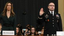 Vindman says he'll be 'fine for telling the truth' in impeachment probe, as Army stands ready to relocate him for safety