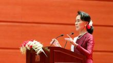 Myanmar's Suu Kyi condemns abuses in Rakhine, but rights groups critical