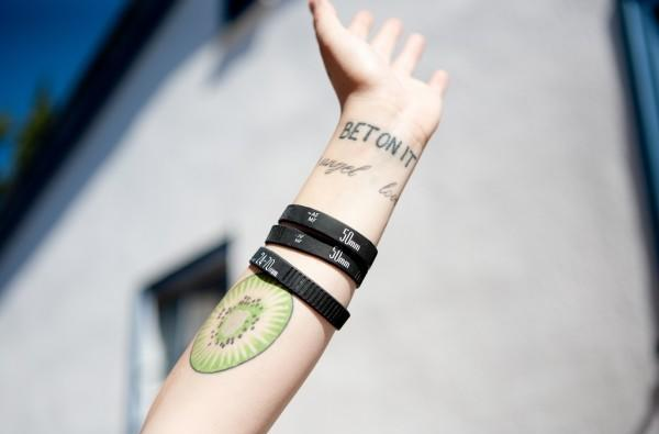 Lens Ring Bracelets look great with your ironic tattoos