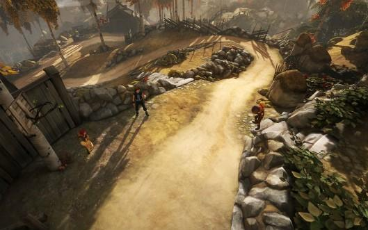 Go behind the scenes with Brothers: A Tale of Two Sons