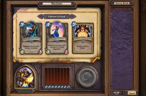 Face the trials of the Arena in Hearthstone