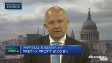 Imperial Brands is not in managed decline, CFO says