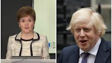 Nicola Sturgeon accuses Boris Johnson of 'shambolic decision making process' over UK quarantine rules