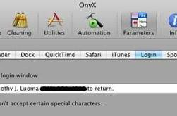 How To: Add contact information to your Mac's login screen