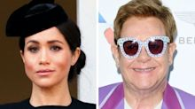 Elton John Slams Meghan Markle, Prince Harry Critics In Fiery Twitter Takedown
