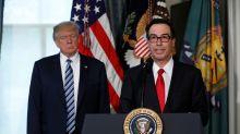 """Usa: Mnuchin lancia l'allarme """"fiscale"""" sul rally di Wall Street"""