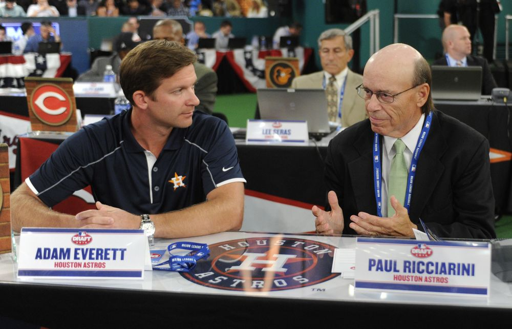 Astros fail to sign first pick in MLB draft