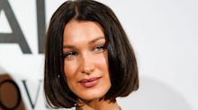 Bella Hadid's New Brunette Bob Looks Exactly Like Kim Kardashian's Old Bob