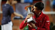 Djokovic wins Italian Open: 'I moved on' after U.S. Open default