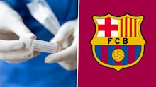 Barcelona confirm one positive Covid-19 test but Champions League clash not in doubt