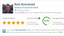 Deutsche Bank: 3 Stocks With Over 30% Upside Potential
