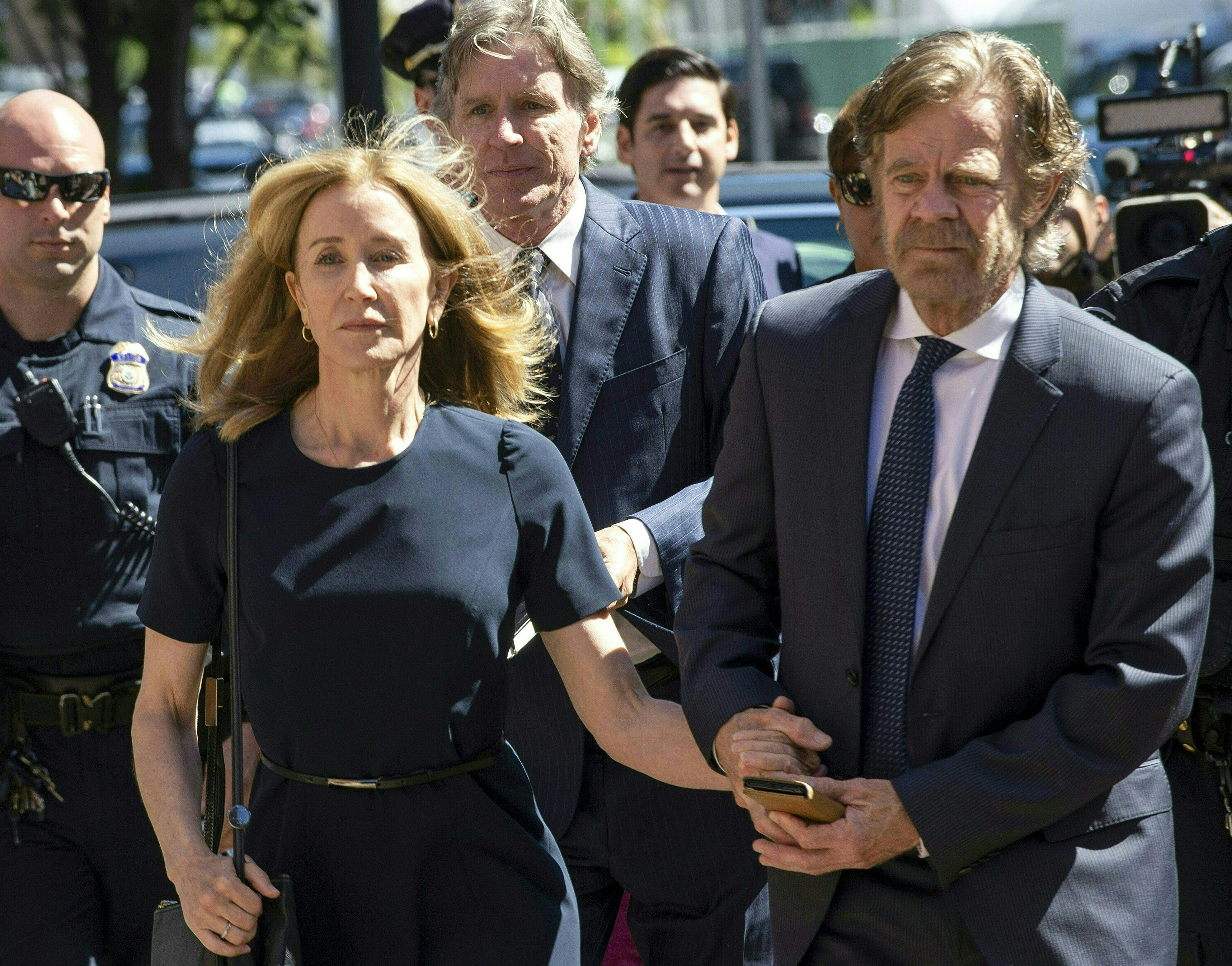 Felicity Huffman's daughter Georgia indicates she's going to college following admissions scandal