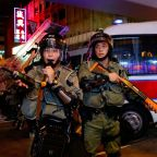 Hong Kong protests: Eerie calm descends as demonstrators avoid clashes with police