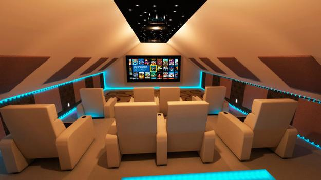 Pick Your Perfect Home Movie Theater Futuristic Vintage Modern Or Mario