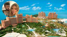 Así es el lujoso complejo hotelero donde están pasando sus vacaciones Shakira y Piqué