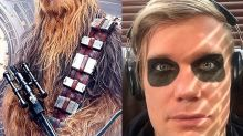 Chewbacca tiene nuevo actor bajo el traje peludo ¡y es guapísimo!