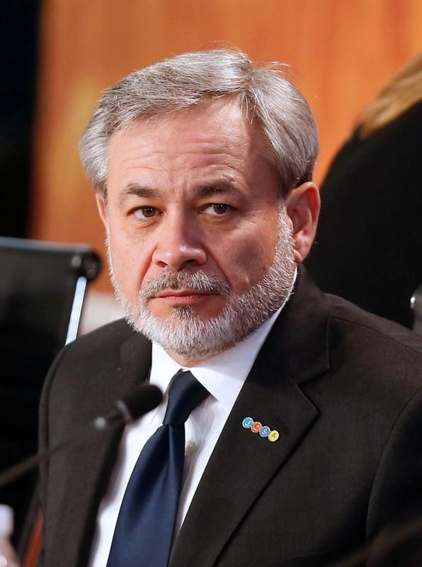 "FILE PHOTO: Deputy Secretary of the U.S. Department of Energy Brouillette attends a meeting of the ""Energy and Climate Partnership of the Americas"" in Vina del Mar"