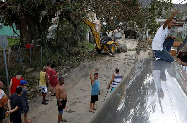 Univision map offers up-to-date info about damage in Puerto Rico