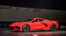 The new Corvette waves goodbye to the boomers