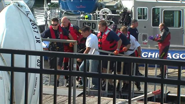 RAW: Body recovered at Belmont Harbor
