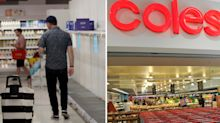 Coronavirus: The new items Coles has put on its restricted shopping list