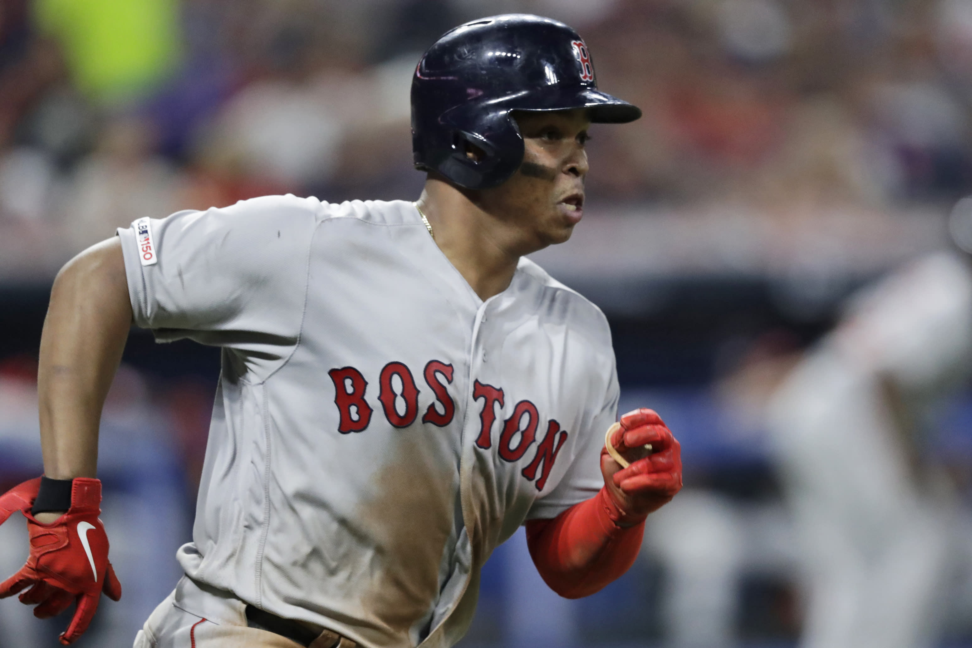Boston's Devers sets record with 6 hits, 4 doubles in win