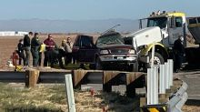 Horrific car crash involving SUV with 25 passengers kills 13
