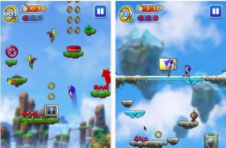 Daily iPhone App: Sonic Jump is Sega's first mobile-only iOS title