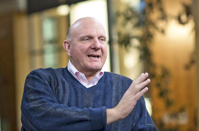 Steve Ballmer builds an open database of government spending