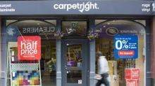 Carpetright and Debenhams hit by tough trading