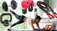 Kettlebells, weights and power tubes: Best at-home workout gear