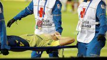 Santiago Arias, sustituido tras sufrir una terrible lesión en un tobillo