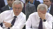 David Davis admits there are no impact assessments on the effect of Brexit on the UK economy