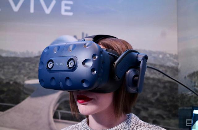 HTC's Vive Pro headset is available to pre-order for $799