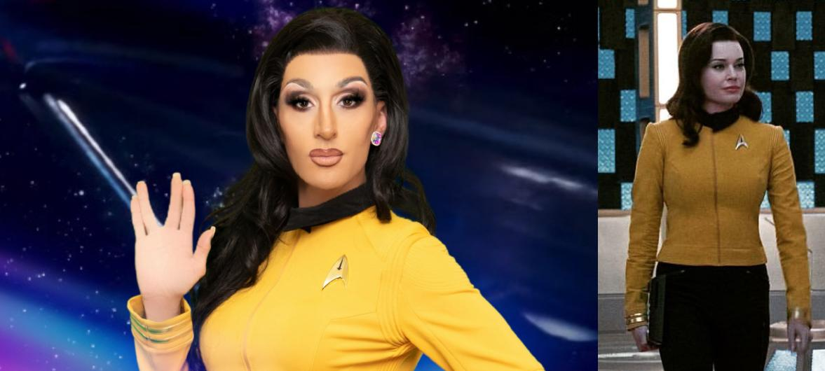 RUPAUL'S DRAG RACE Queens Cosplay as Pop Culture Icons